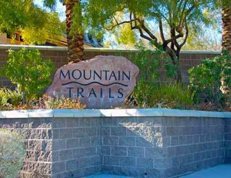 Mountain Trails Summerlin Las Vegas Homes For Sale