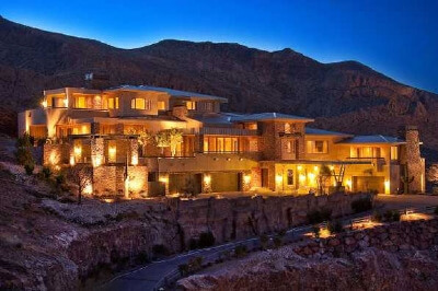 The most expensive real estate in las vegas henderson for Mansions for sale las vegas